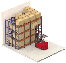Принципиальная схема гравитационных стеллажей чрезвычайно проста.  Они представляют собой роликовые конвейеры...